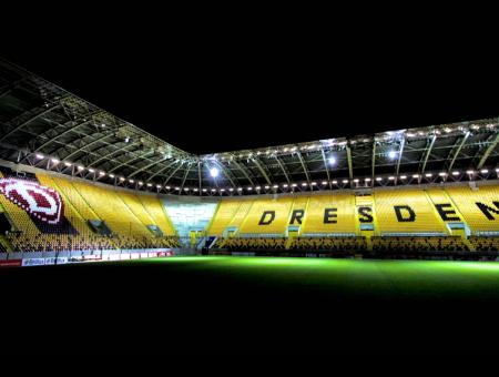Januar 2021 Rudolf-Harbig-Stadion