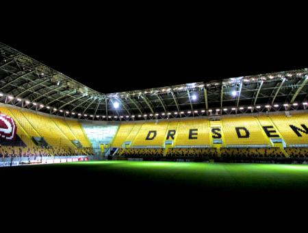 September 2020 Rudolf-Harbig-Stadion
