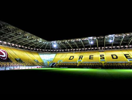 März 2021 Rudolf-Harbig-Stadion