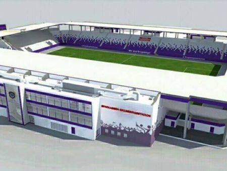 März 2021 Erzgebirgsstadion Aue