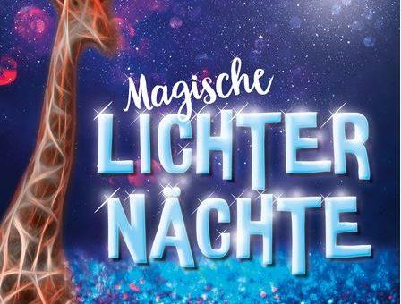 Magische Lichternächte im Thüringer Zoopark Erfurt