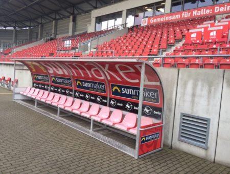 Juni 2021 Leuna Chemie Stadion Halle